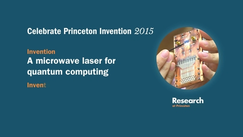 Celebrate Princeton Invention 2015 Jason Petta