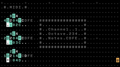 Thumbnail for entry RadLab: Sequencing with ASCII in Orca