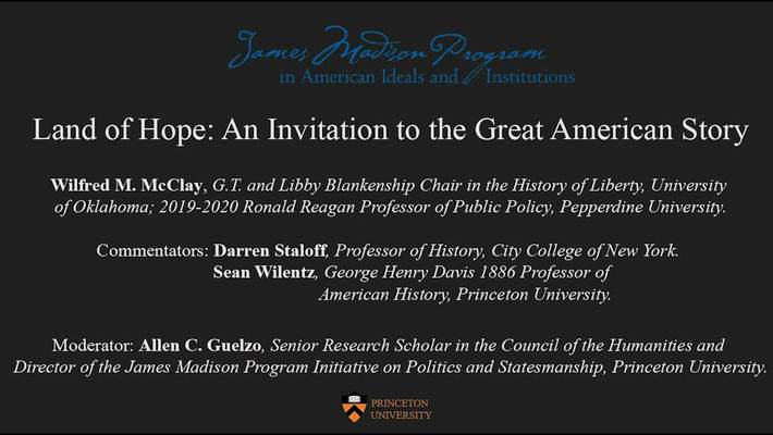 Land of Hope An Introduction to American History