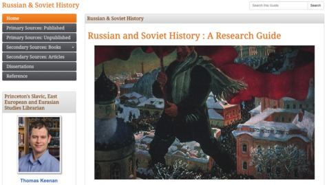Thumbnail for entry Russian/Soviet Primary Source Research in Your PJ's