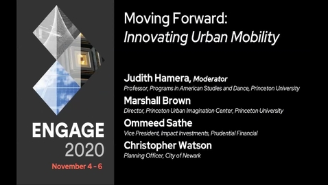 Thumbnail for entry Moving Forward: Innovating Urban Mobility
