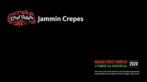 Thumbnail for entry Nassau Sampler - Jammin Crepes