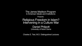 A Pathway to Liberty: Developing Islam's Seeds of Freedom