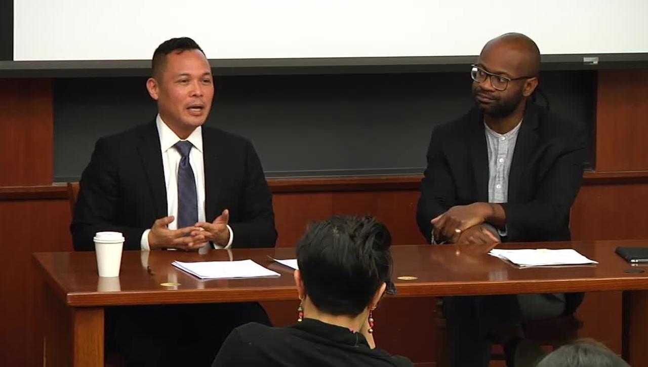 Allan Isaac - Asian American Lecture - April 19, 2018