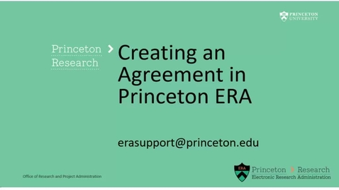 Thumbnail for entry Agreements 3: Creating an Agreement
