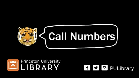 Thumbnail for entry How to find Library books using call numbers