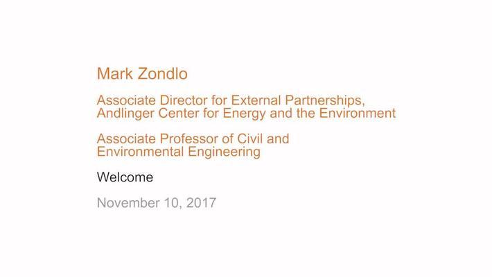 Welcome - Mark Zondlo