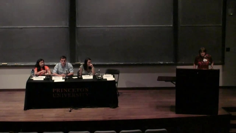 Princeton Preview Bridge Year and International Programs Panel