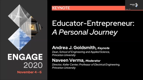 Thumbnail for entry Educator-Entrepreneur: A Personal Journey