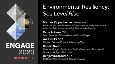 Thumbnail for entry Environmental Resiliency: Sea Level Rise