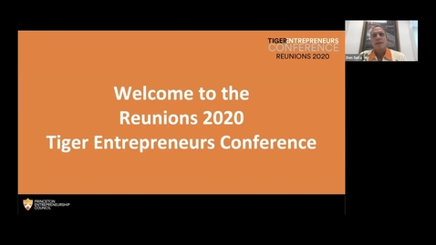 """Thumbnail for entry Reunions 2020 Tiger Entrepreneurs Conference: Direct from Davos: Toward a """"Restoration of Trust""""?"""