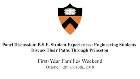 Thumbnail for entry First-Year Families Weekend Panel 4  : Engineering