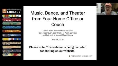 Thumbnail for entry Music, Dance, and Theater from Your Home Office or Couch