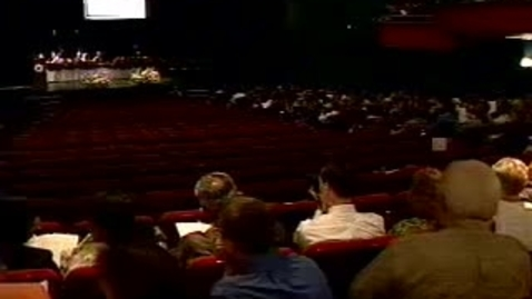 Thumbnail for entry Hooding Ceremony 2002