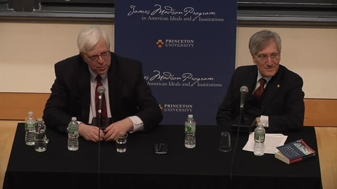 Thumbnail for entry Dennis Prager & Robert P. George - A Jewish-Christian Dialogue on Religion, Culture, and Politics