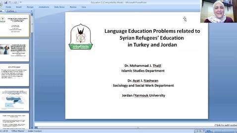 Thumbnail for entry Mohammad Thalgi and Ayat Nashwan