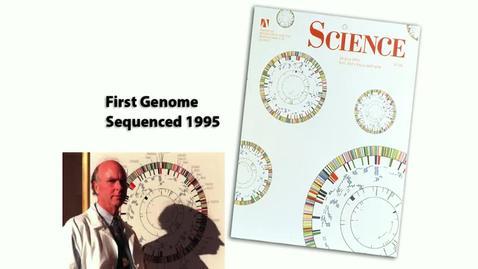 Thumbnail for entry Vanuxem Lecture - Craig Venter