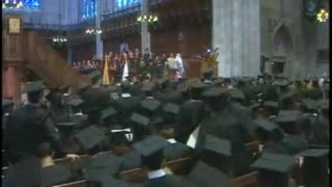 Thumbnail for entry Baccalaureate Ceremony 2008