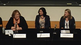 Thumbnail for entry Data Science A View to the Future with panelists Jennifer Chayes 83, Patricia Falcone '74 and Courtney Monk '01