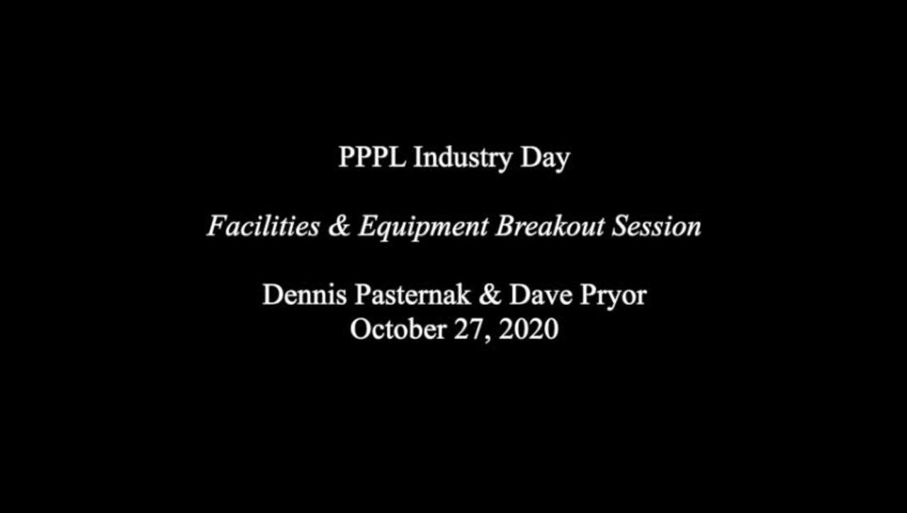 IndustryDay_27Oct20_Facilites&Equipment-Breakout