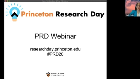 Thumbnail for entry PRD 2020 Webinar: Day 3