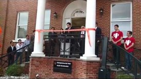 Thumbnail for entry Princeton's Entrepreneurial Hub Ribbon-Cutting Ceremony - 11/11/15