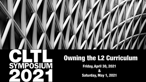 Thumbnail for entry CLTL Symposium 2021 Day 1 Closing Remarks