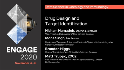 Thumbnail for entry Data Science in Oncology and Immunology: Drug Design and Target Identification