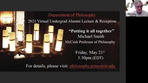 Thumbnail for entry 2021 Undergraduate Alumni Lecture