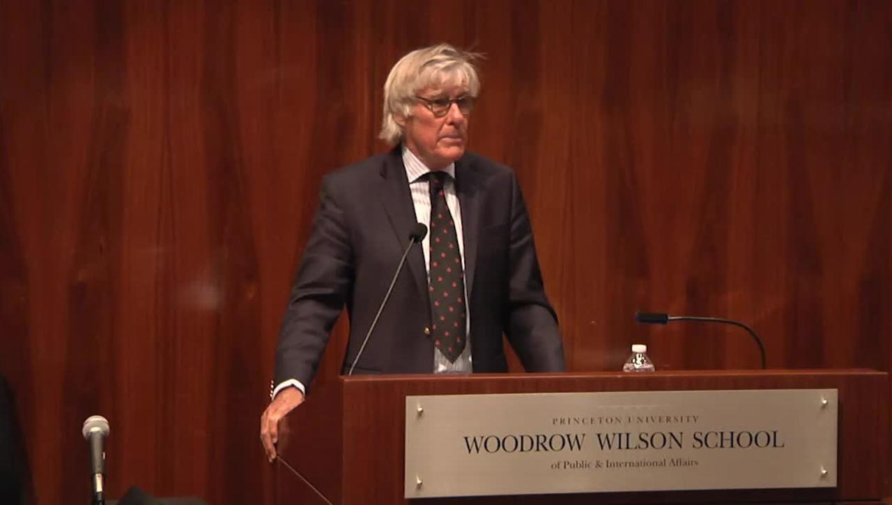 Gilbert Lecture with Jeremy Kinsman '63