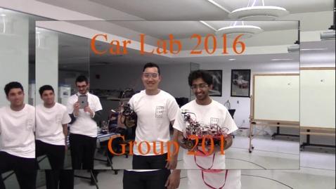 Carlab 2016 Group 201