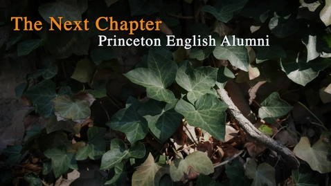 Thumbnail for entry PUBLISHING: Alex Ulyett '11 - Penguin Random House; MBA '20 - Why English Matters