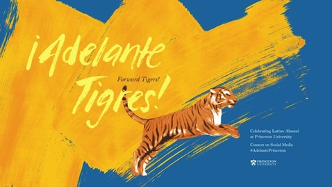 Thumbnail for entry Adelante Tigres - A Conversation with President Christopher L. Eisgruber '83