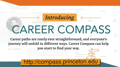 Thumbnail for entry Career Compass