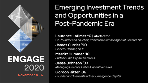 Thumbnail for entry Emerging Investment Trends and Opportunities in a Post-Pandemic Era