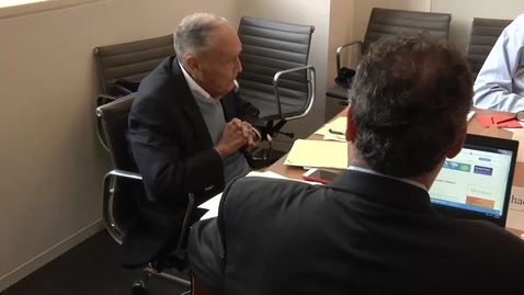 Thumbnail for entry MiniConference with Jack Bogle and Burton Malkiel PT2