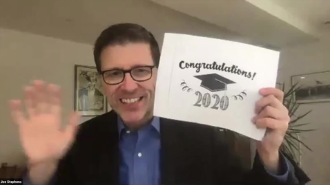 Thumbnail for entry Closing remarks - 2020 Journalism Senior Colloquium