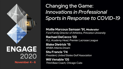 Thumbnail for entry Changing the Game: Innovations in Professional Sports in Response to COVID-19