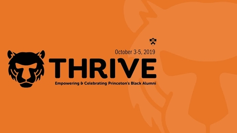 Thumbnail for entry Thrive - Luncheon Discussion: In the Nation's (and the City, County, and State's) Service: Civic Engagement in the 21st Century