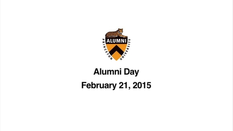 Thumbnail for entry Alumni Day 2015 Service of Remembrance