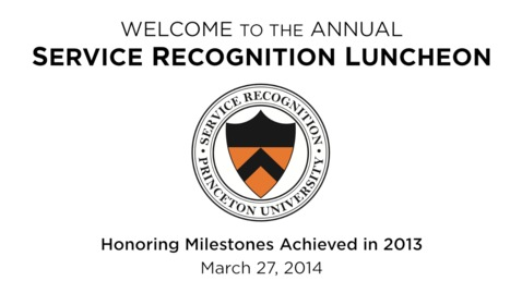 Thumbnail for entry 2014 Service Recognition Luncheon