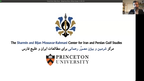 Thumbnail for entry Iran in Motion: Mobility, Space and the Trans-Iranian Railway
