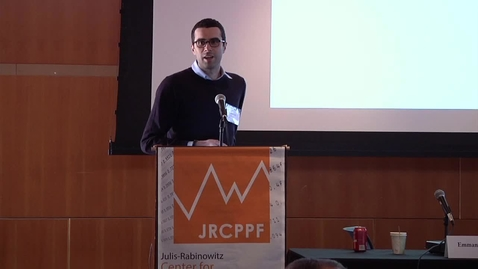 """Thumbnail for entry JRCPPF Fourth Annual Conference - """"The Safety Trap"""""""