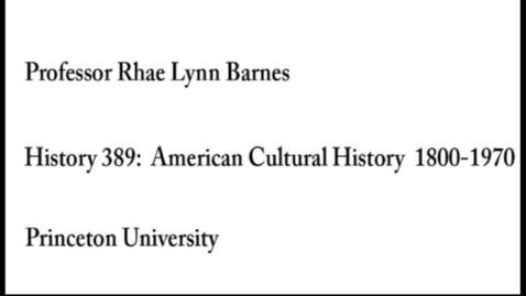 Thumbnail for entry History 389 Rhae Lynn Barnes Spring 2019