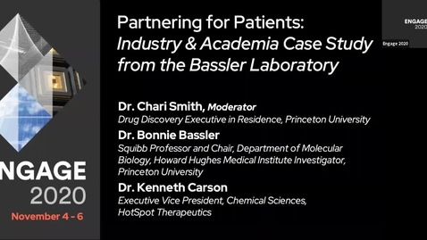 Thumbnail for entry Partnering for Patients: Industry & Academia Case Study from the Bassler Laboratory