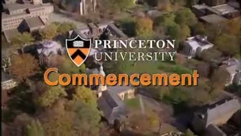 Thumbnail for entry Princeton University's 264th Commencement