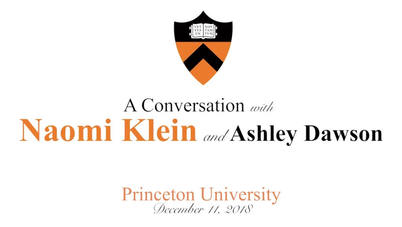 A Conversation with Naomi Klein and Ashley Dawson