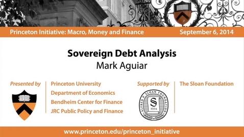 Thumbnail for entry Sovereign Debt Analysis