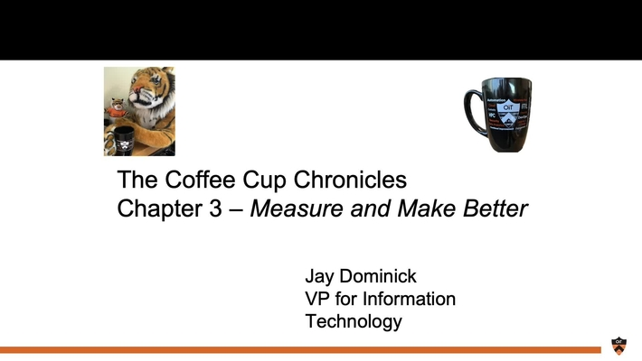 OIT Coffee Cup Chronicles 3: Measure and Make Better