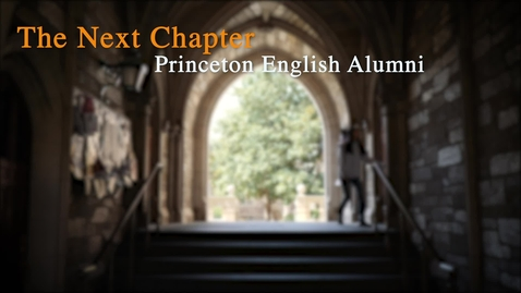 Thumbnail for entry FILMMAKING: Lovell Holder '09 - Producer/Writer/Director - Memorable Moments in the English Dept.